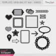 Templates Grab Bag Kit #28 - Shapes