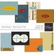 Khaki Scouts Journal Cards Kit