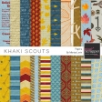 Khaki Scouts Papers Kit