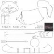 Khaki Scouts Illustrations Kit