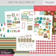 Deck the Halls Print Kit