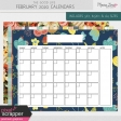 The Good Life: February 2020 Calendars Kit