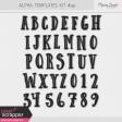Alpha Template Kit #49