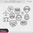 The Good Life: April 2020 Travel Stamps Kit
