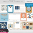 The Good Life: April 2020 Travel Pocket Cards Kit