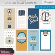 The Good Life: April 2020 Travel Journal Me Kit
