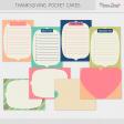 Thanksgiving Journal Cards Kit