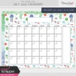 The Good Life: July 2020 Calendars Kit
