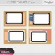 Pocket Cluster Templates Kit #10