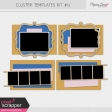 Pocket Cluster Templates Kit #12