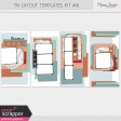 Travelers Notebook Layout Templates Kit #16