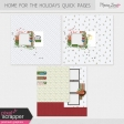 Home for the Holidays Quick Pages Kit #2