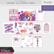 The Good Life: January 2021 Pocket Cards Kit