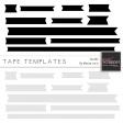 Tape Templates Kit #2