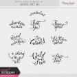 World Traveler #2 Word Art Kit #3