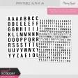 Printable Alpha Kit #1