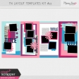 Travelers Notebook Layout Templates Kit #22
