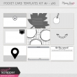 Pocket Card Templates Kit #7 - 4x6