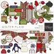 Winter Plaid Elements Kit