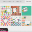 Garden Party Quick Pages Kit