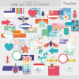 The Good Life: June 2021 Tags & Stickers Kit
