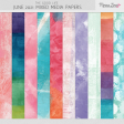 The Good Life: June 2021 Mixed Media Papers Kit