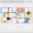 The Good Life: November Pocket Quick Page Kit