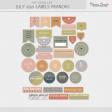 The Good Life: July 2021 Labels Français Kit
