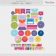 The Good Life: August 2021 Labels Kit