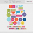 The Good Life: August 2021 Labels Español Kit