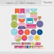 The Good Life: August 2021 Labels Français Kit