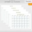 The Good Life: September 2021 Calendars Kit