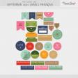 The Good Life: September 2021 Labels Français Kit