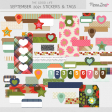 The Good Life: September 2021 Tags & Stickers Kit