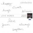 Brush Kit #31 - Love Words
