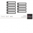Tag Templates Kit #8