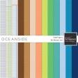 Oceanside Solid Papers Kit