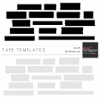 Tape Templates #4