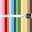 At The Farm Solid Papers Kit