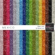 Mexico Glitter Sheets Kit