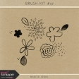 Brush Kit #47 - Flower Watercolors