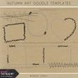 Autumn Art Doodle Templates Kit