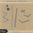 Autumn Art Misc Templates Kit