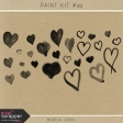 Paint Brush Kit #49 - Hearts