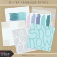 Winter Arabesque Papers Kit #1