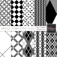 Argyle Paper Templates 11-20 Kit