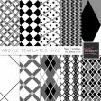 Argyle Paper Templates 11-20 Kit