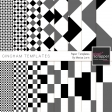 Gingham Paper Templates Kit
