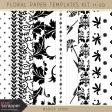 Floral Paper Templates 11-20 Kit