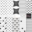 Heart Paper Templates 1-10 Kit